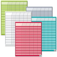 BRIGHT COLORS INCENTIVE 5-CHART VARIETY PACK