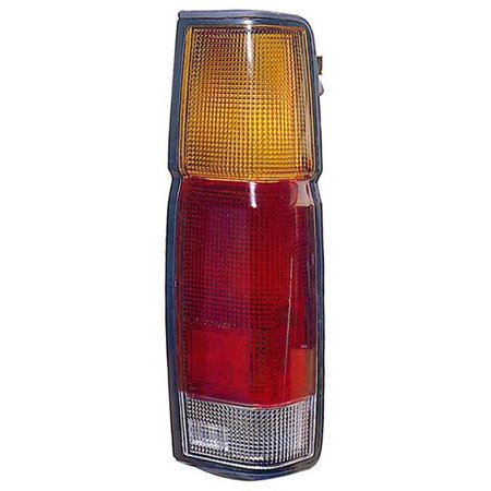 Go-Parts » 1986 - 1997 Nissan Pickup Rear Tail Light Lamp Assembly / Lens / Cover - Left (Driver) 26526-01G00 NI2808102 Replacement For Nissan