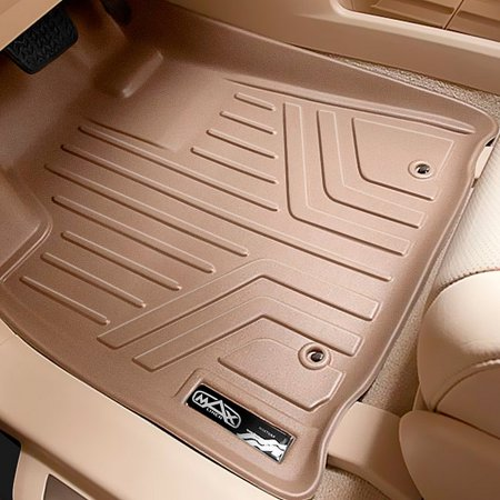 Maxliner 2008 2016 Chevrolet Traverse Buick Enclave Custom Fit Floor Mat Cargo Liner Tan A1043 B1043 D1043