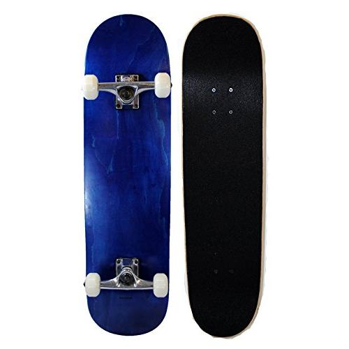 Blank Complete Skateboard 8.0 Stained Blue
