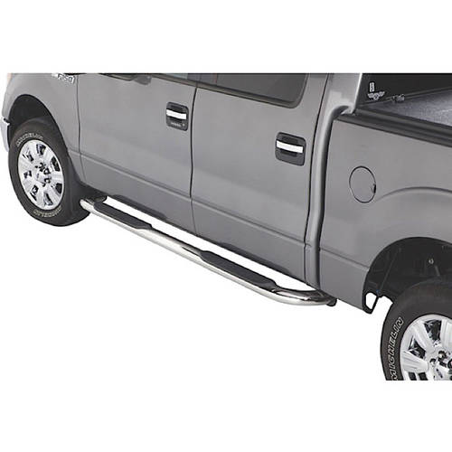 Westin Automotive 21-3800 14-15 Silverado/Sierra 1500 Reg Cab Platinum Oval Step Bars Stainless Steel
