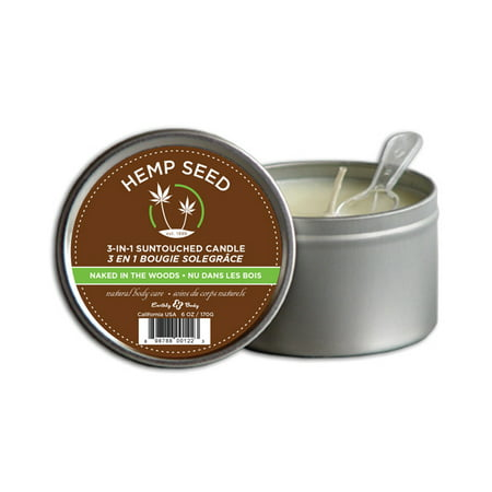 - Earthly Body Hemp Seed 3 in 1 Massage Candle