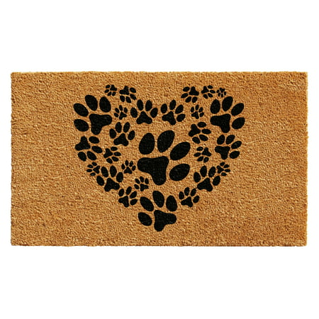 Calloway Mills Heart Paws Outdoor Doormat 17