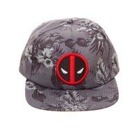 5a5468d71e7 Bioworld Licensed Deadpool - Marvel Comics - Floral AOP Grey Buckle Hat