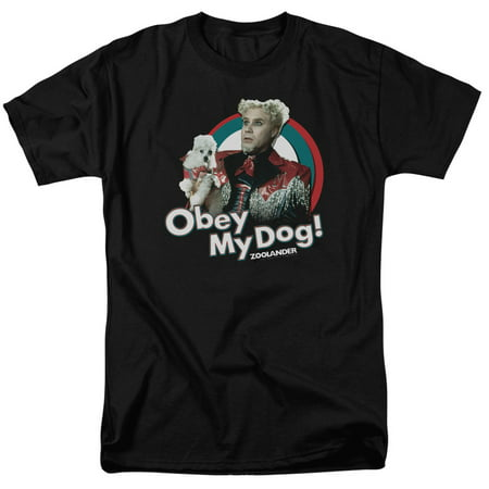 Zoolander Men's  Obey My Dog T-shirt - Zoolander Jacket