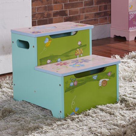 Astonishing Hau Li Wu Usa Childrens Storage Step Stool Bee Snail Beatyapartments Chair Design Images Beatyapartmentscom