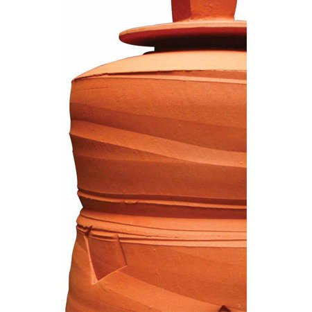 AMACO Low Fire Moist Plastic Earthenware Clay, 50 Pounds, Sedona Red 67 (Moist Clay)