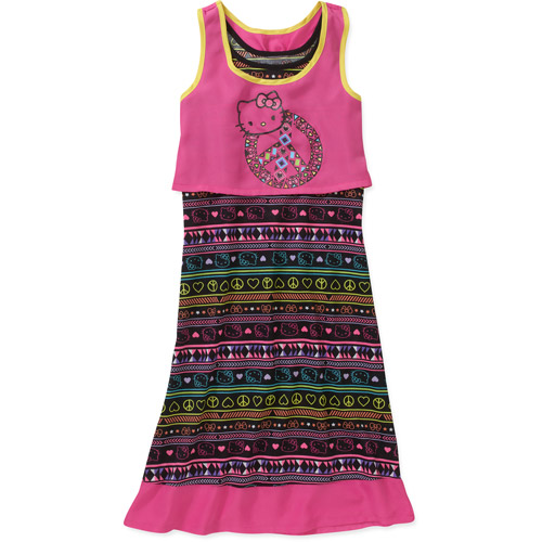 Hello Kitty Girls' 2fer  Dress