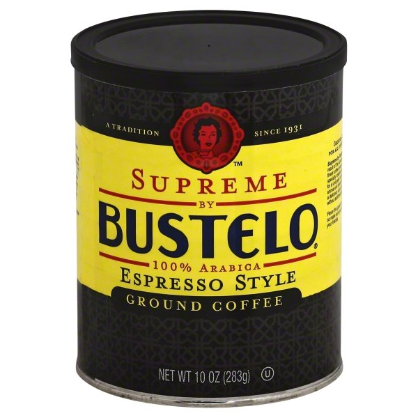 Café Bustelo Supreme by Bustelo Espresso Coffee by The J.M. Smucker Co.