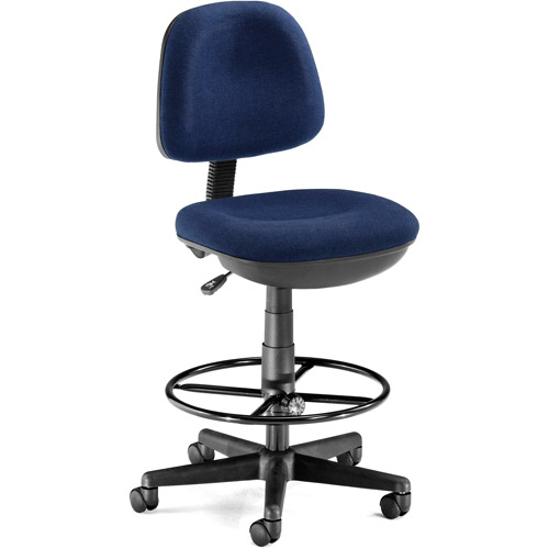 OFM Lite Use Computer Task Chair with Drafting Kit, Multiple Colors