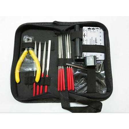 Series Acoustic Bass Guitar (Professional Guitar Care Tool Set Repair Maintenance Tech Kit for Acoustic Electric Bass Guitar Tools Kit)