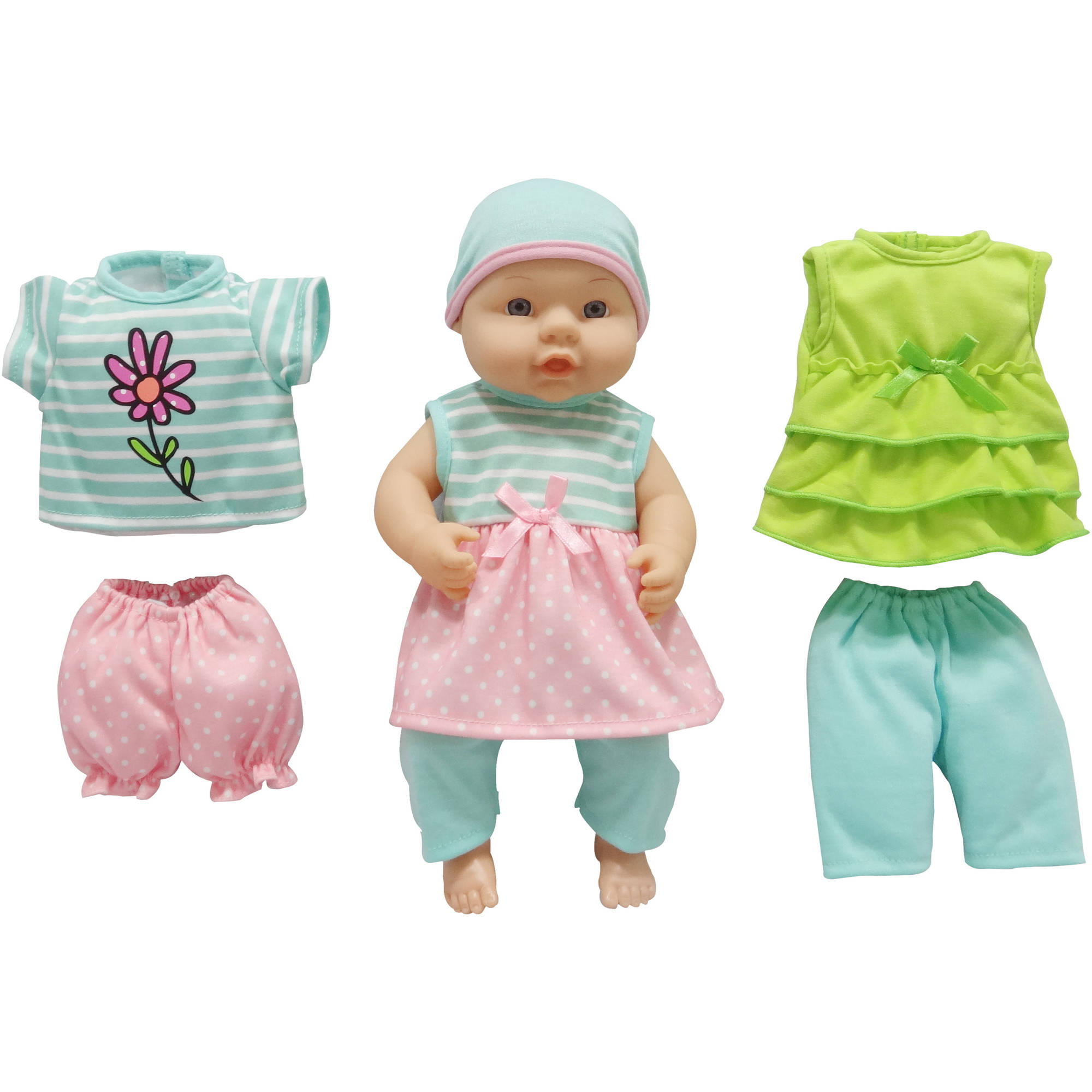"My Sweet Love 12.5"" Baby with Outfits, Teal"