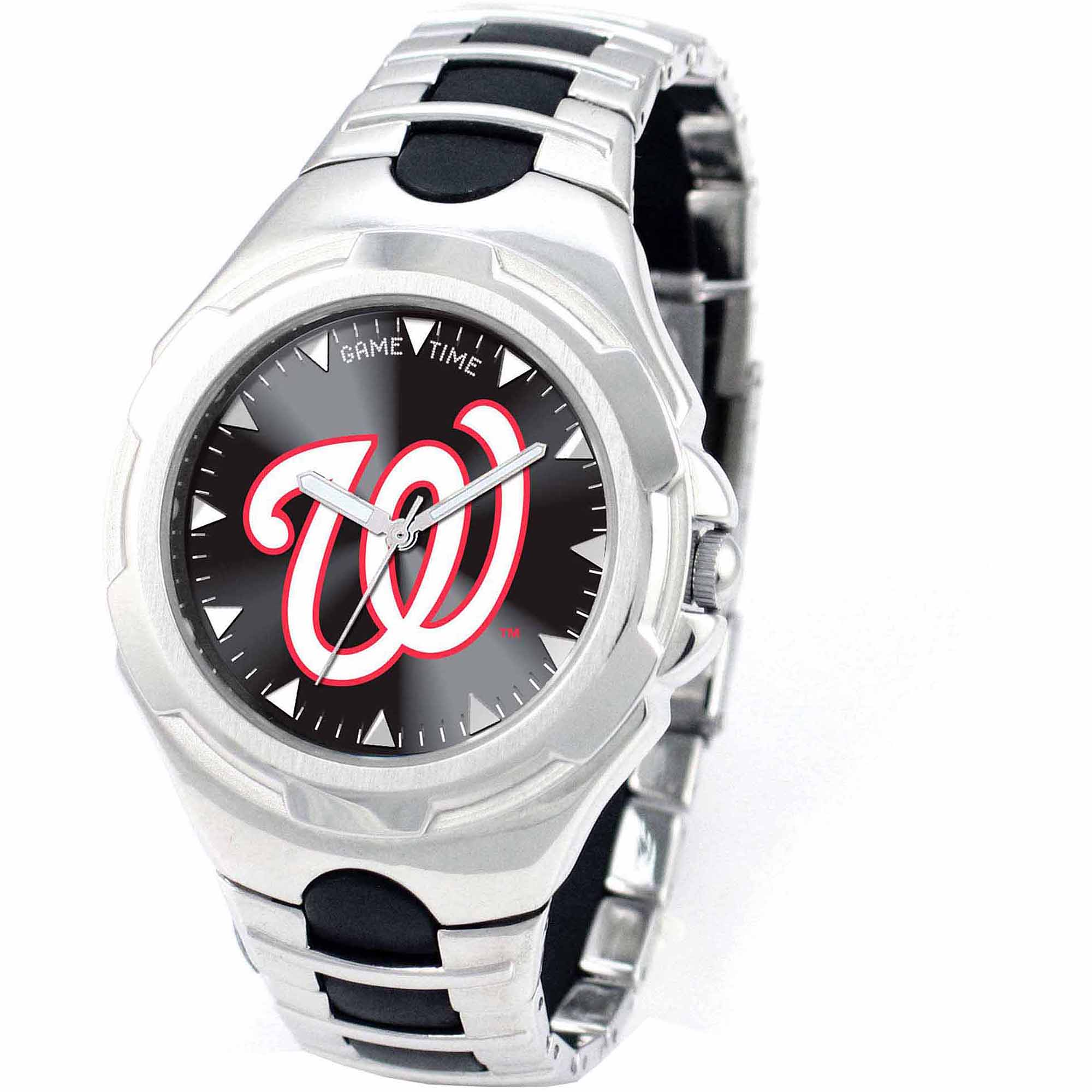 Game Time MLB Men's Washington Nationals Victory Series Watch