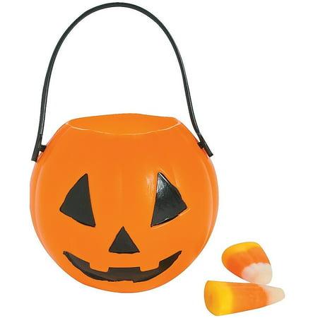 Mini Pumpkin Buckets (12 Pack) 2