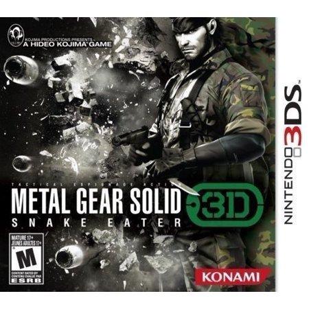 Nintendo 3DS - Metal Gear Solid Snake Eater 3D