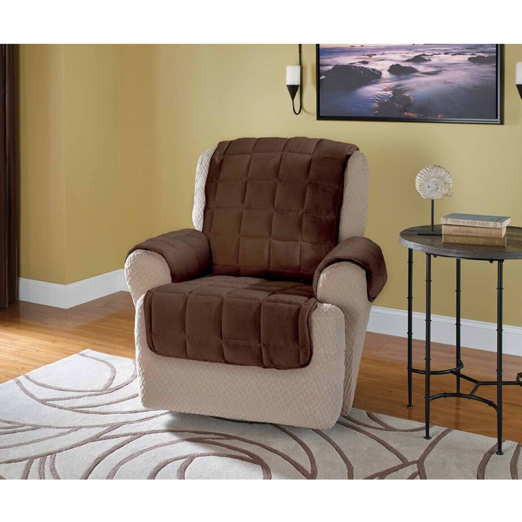 Innovative Textile Solutions Plush Recliner or Wing Chair Protector