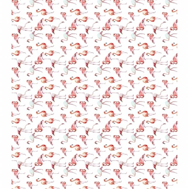 13.75 x 15.75 in. Flamingos Decoupage Papers, 3 per Pack