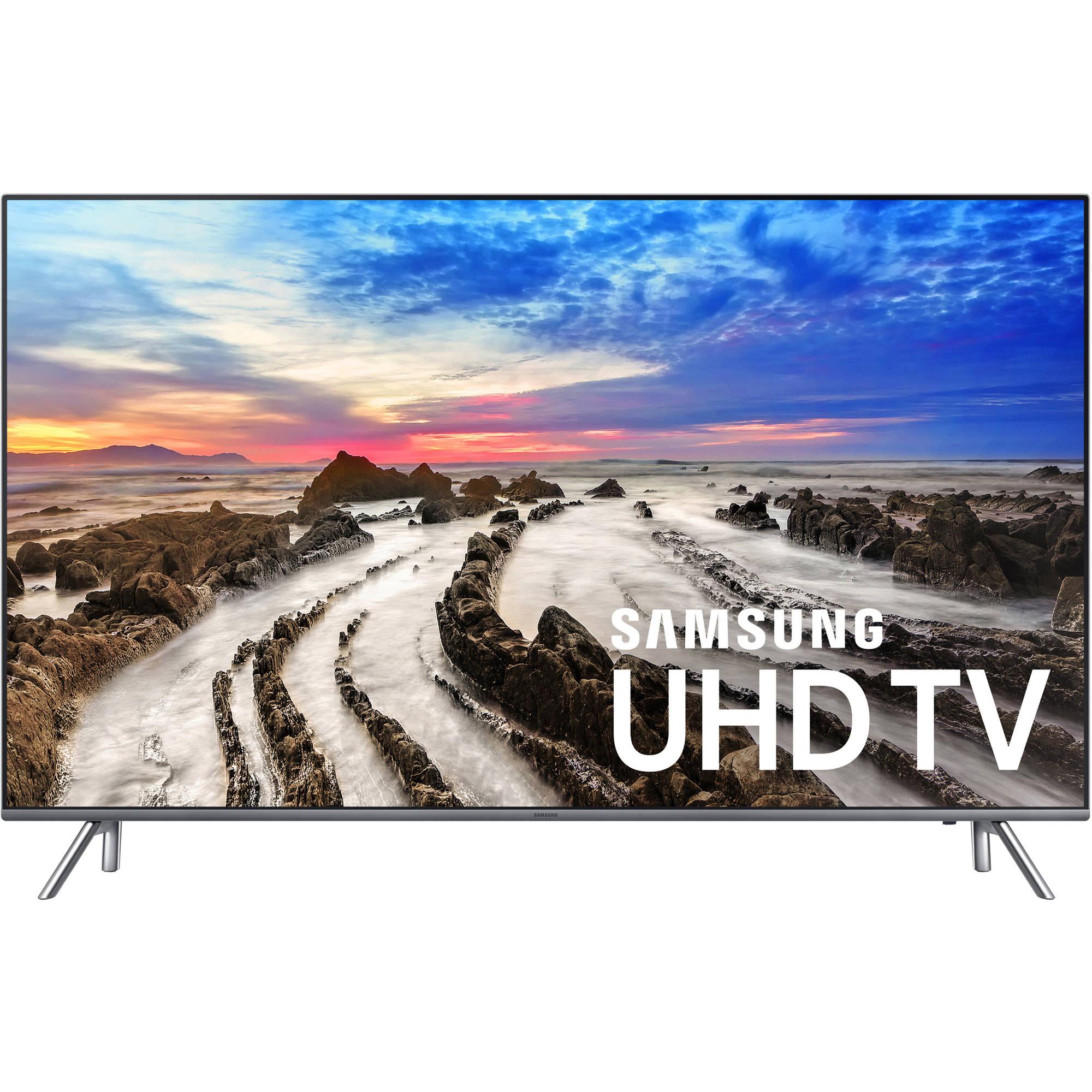"""Samsung 55"""" Class 4K (2160P) Smart LED TV (UN55MU8000):"""