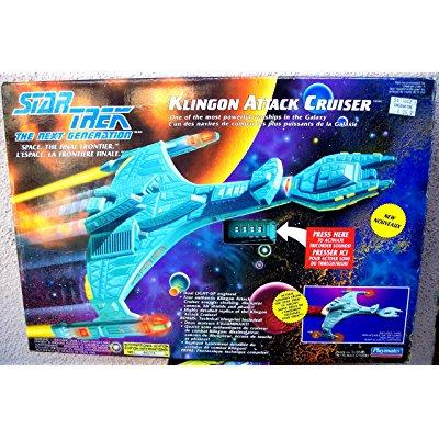 Star Trek The Next Generation Klingon Attack Cruiser by