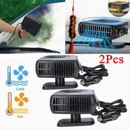 On Clearance 12V 150W Auto Car Heater Car Vehicle Portable Ceramic Heater Heating Cooling Fan Defroster Demister