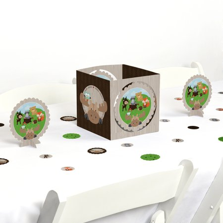 Woodland Creatures - Party Centerpiece & Table Decoration Kit](Woodland Creatures Decorations)
