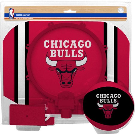 Chicago Bulls Rawlings Softee Hoop & Ball Set - Red - No Size