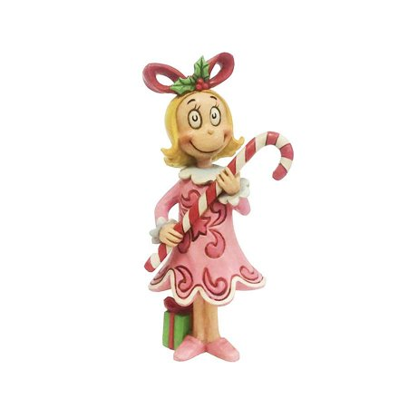 Jim Shore Cindy Lou with Candy Cane - Jim Shore Halloween Figurines