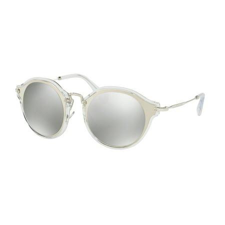 Sunglasses Miu MU 51 SS 1BC2B0 (Miu Miu Round Glasses)