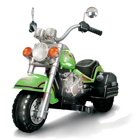 Indian Limited Edition Motorcycle - Harley Style Chopper Style Limited Edition Motorcycle - Green