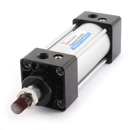 Unique Bargains SC 40mm x 50mm 0.15-08MPa Single Rod Double Acting Pneumatic Air Cylinder - image 2 of 2