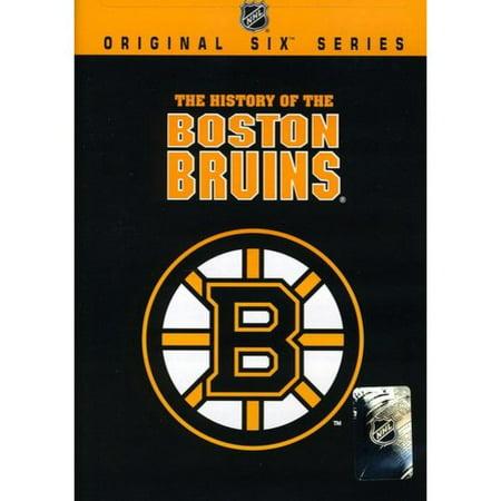 NHL Original Six History of the Boston Bruins