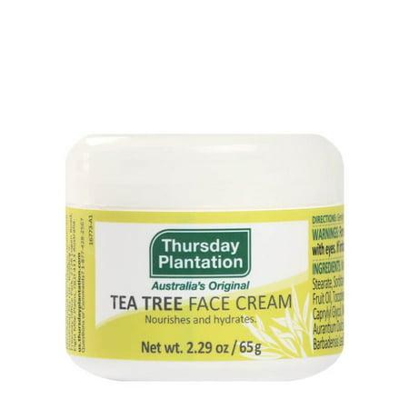 Tea Tree Face Cream Thursday Plantation 2.29 oz