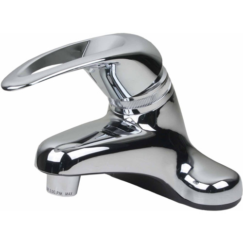 Ultra Faucets UF08031 Single Handle Chrome Non-Metallic Series Lavatory Faucet
