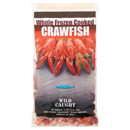 Image of Alfocan Whole Frozen Cooked Crawfish, 5 lbs