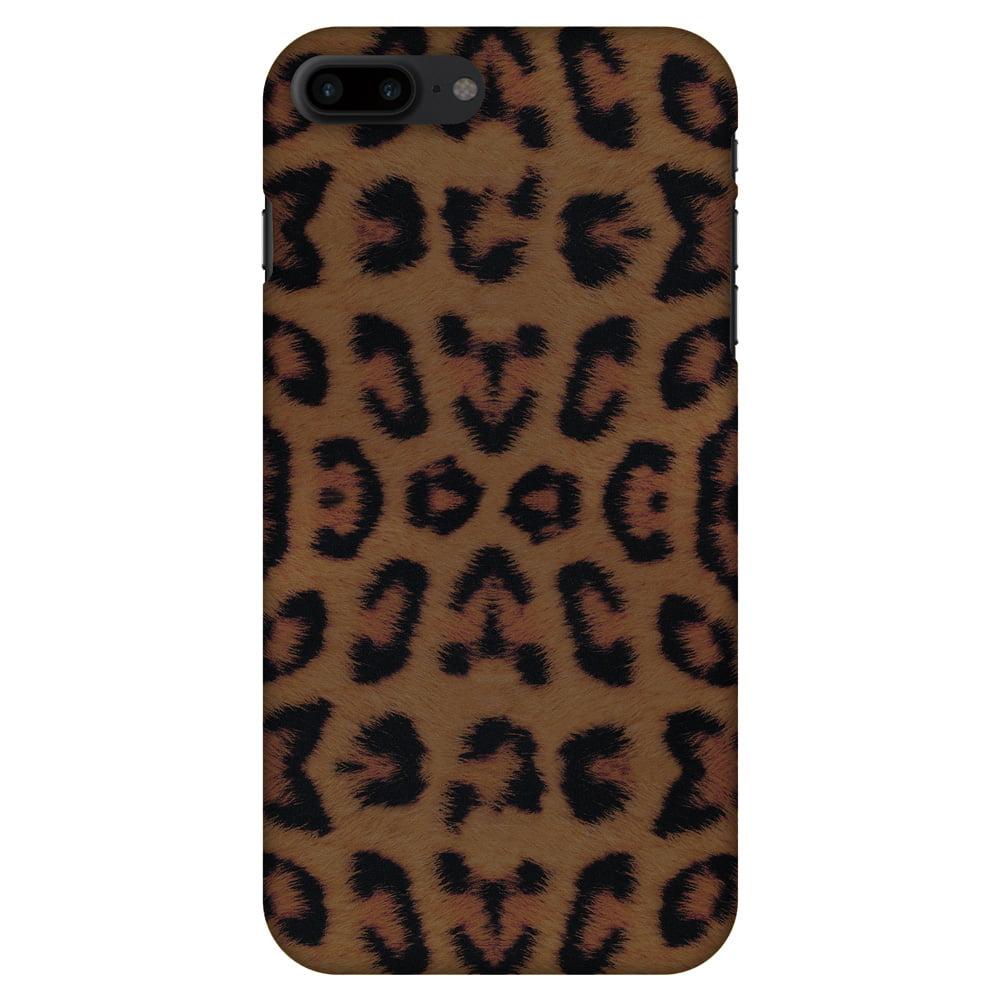 iPhone 8 Plus Designer Case, Premium Handcrafted Printed Designer Hard ShockProof Case Back Cover for iPhone 8 Plus - Wild Leopard