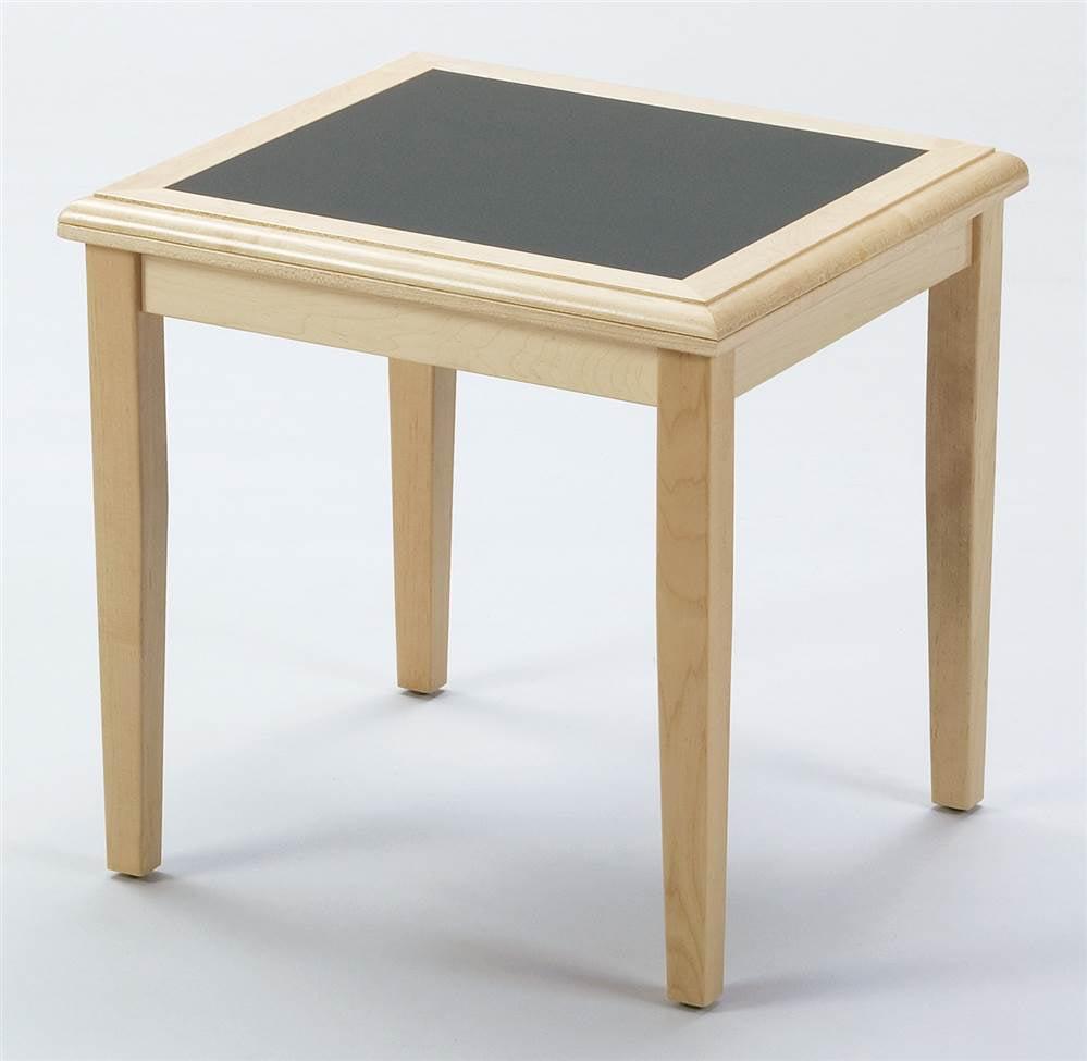 Corner Table - Somerset (Black, Charcoal Matrix)