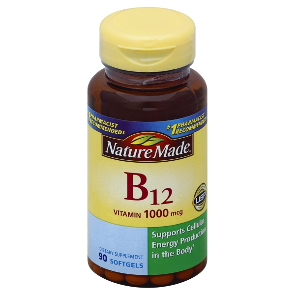 Nature Made Nutritional Products Nature Made  Vitamin B12, 90 ea