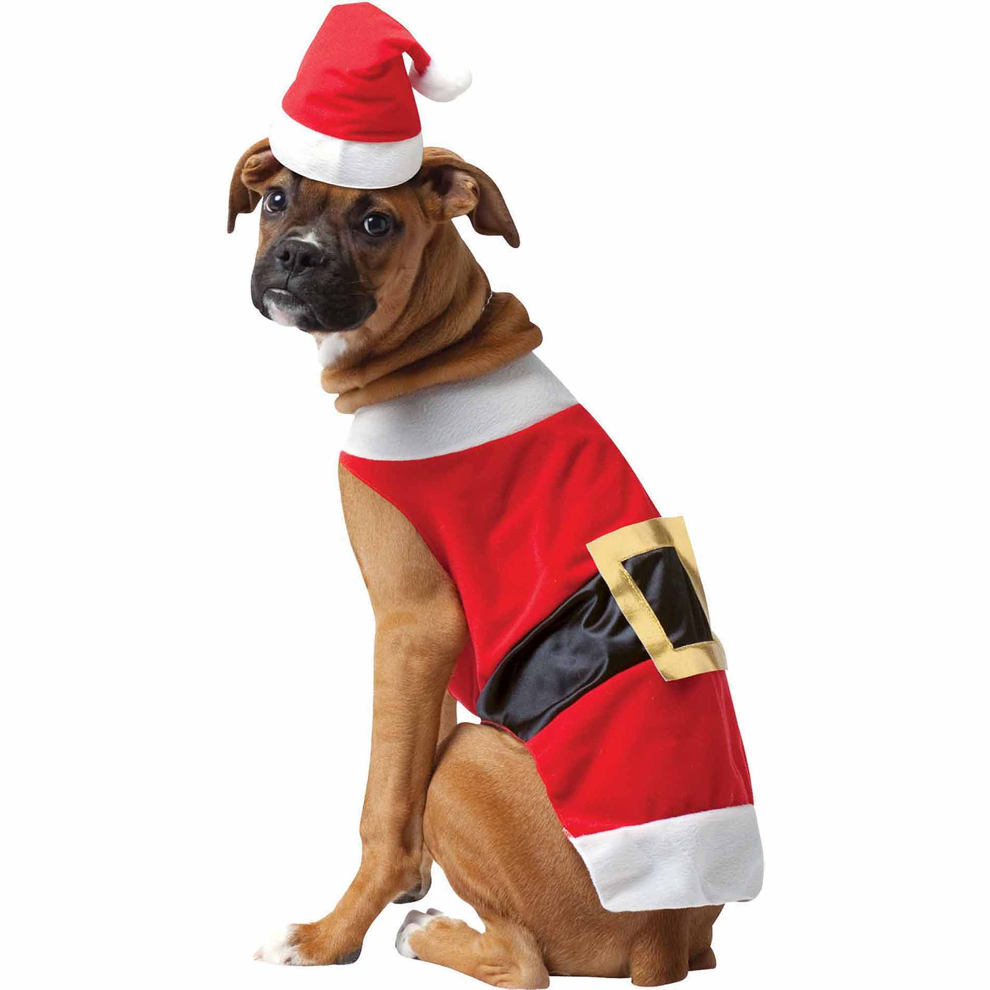 Santa Holiday Pet Costume  (Multiple Sizes Available)