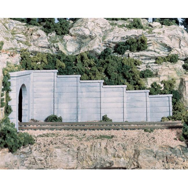 Woodland Scenics WS 1158 N Retaining Wall Concrete