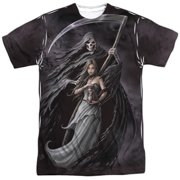Anne Stokes - Summon The Reaper - Short Sleeve Shirt - Small