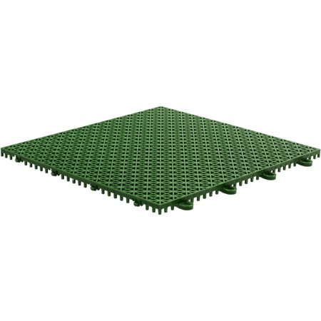 """Armadillo Tile, 12"""" x 12"""", Extreme Green, 9 per Pack"""