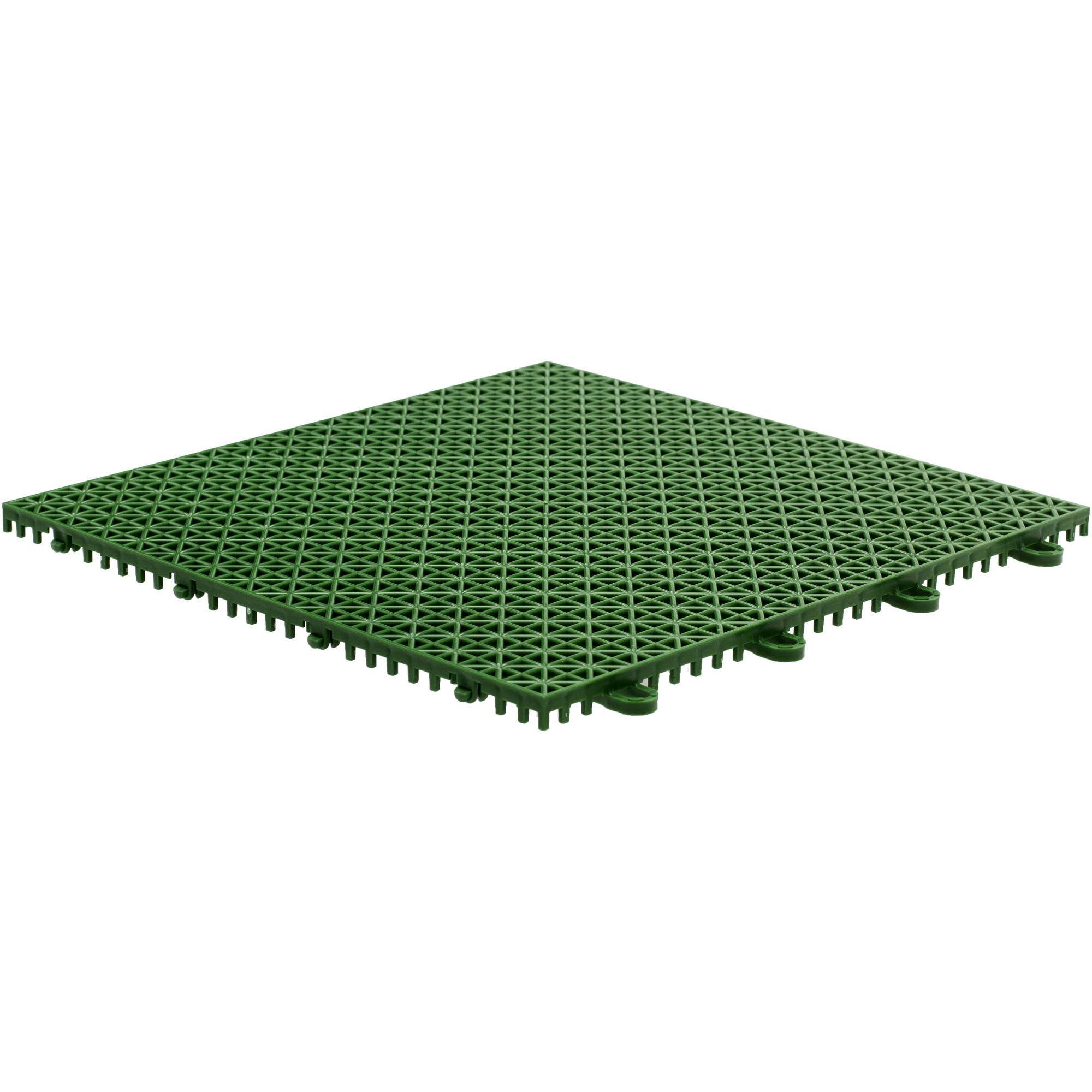 "Armadillo Tile, 12"" x 12"", Extreme Green, 9 per Pack"