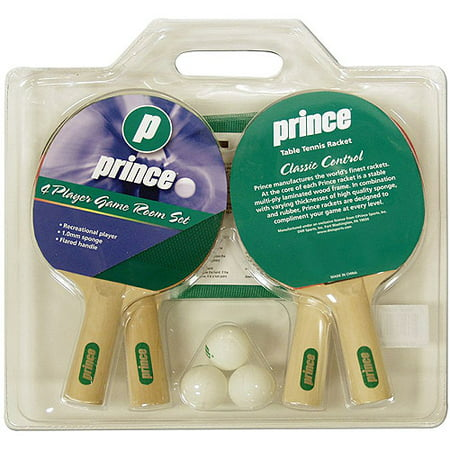 Prince 4-Player Game Room Set