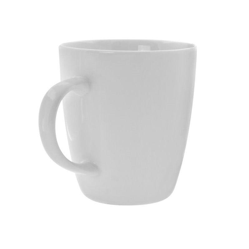 10 Strawberry Street Bistro Mug in White (Set of 6)