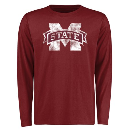 - Mississippi State Bulldogs Big & Tall Classic Primary Long Sleeve T-Shirt - Maroon
