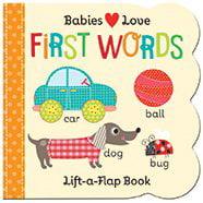 First Words Lift A Flap
