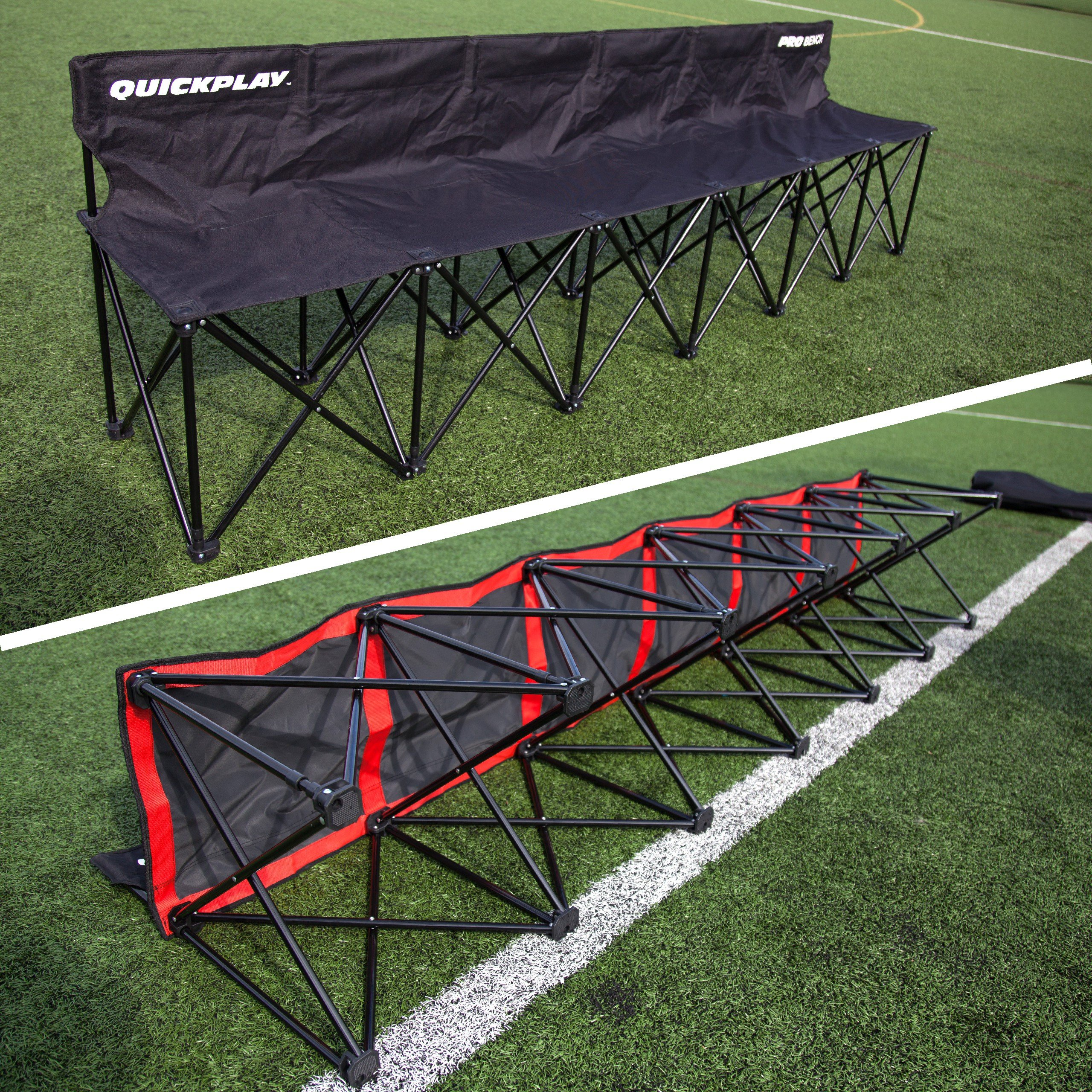 Quick Play Sport QUICKPLAY PRO Portable Folding Bench (6 Seats, Folding  Bench 6)