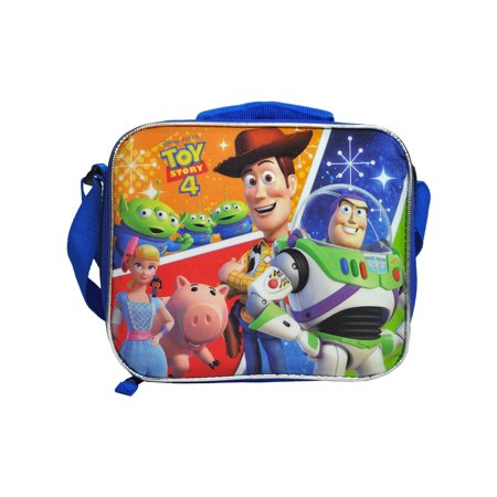 Alien Lunch Box - Toy Story 4 Insulated Lunch Bag Shoulder Strap Aliens Hamm Woody Buzz