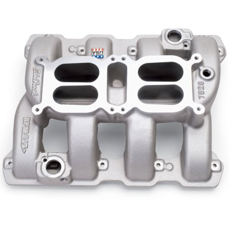 Air Gap Dual Quad Manifold - Edelbrock 7528 RPM Air-Gap Dual-Quad Intake Manifold
