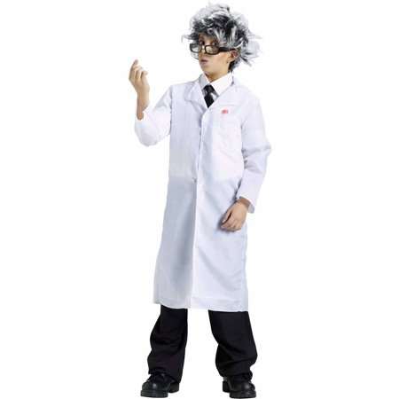 Lab Coat Child Halloween - Boys Trench Coat Costume